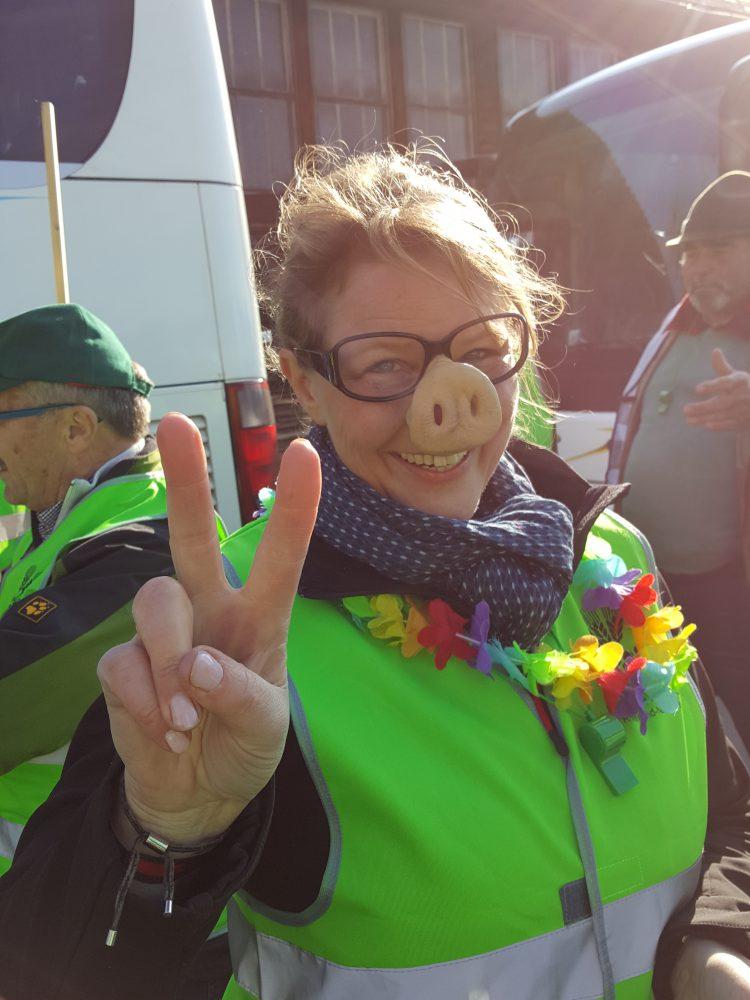 Kundgebung am 11. April 2019 in Landau