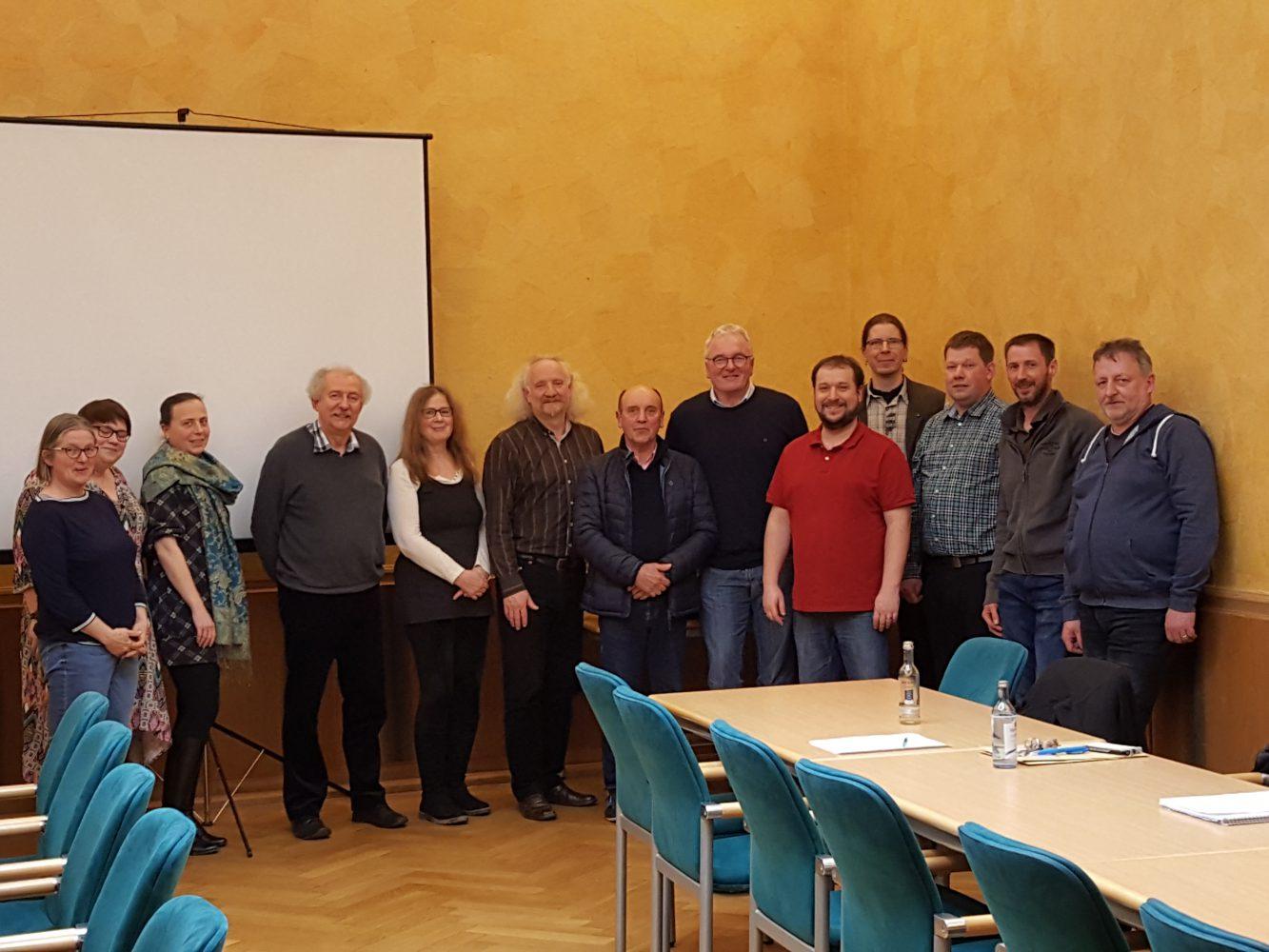 Gemeinsame Sitzung im Gebäude der Kreisverwaltung Ahrweiler