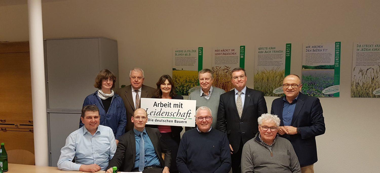 CDU Mandatsträger zu Gast beim Bauern- und Winzerverband